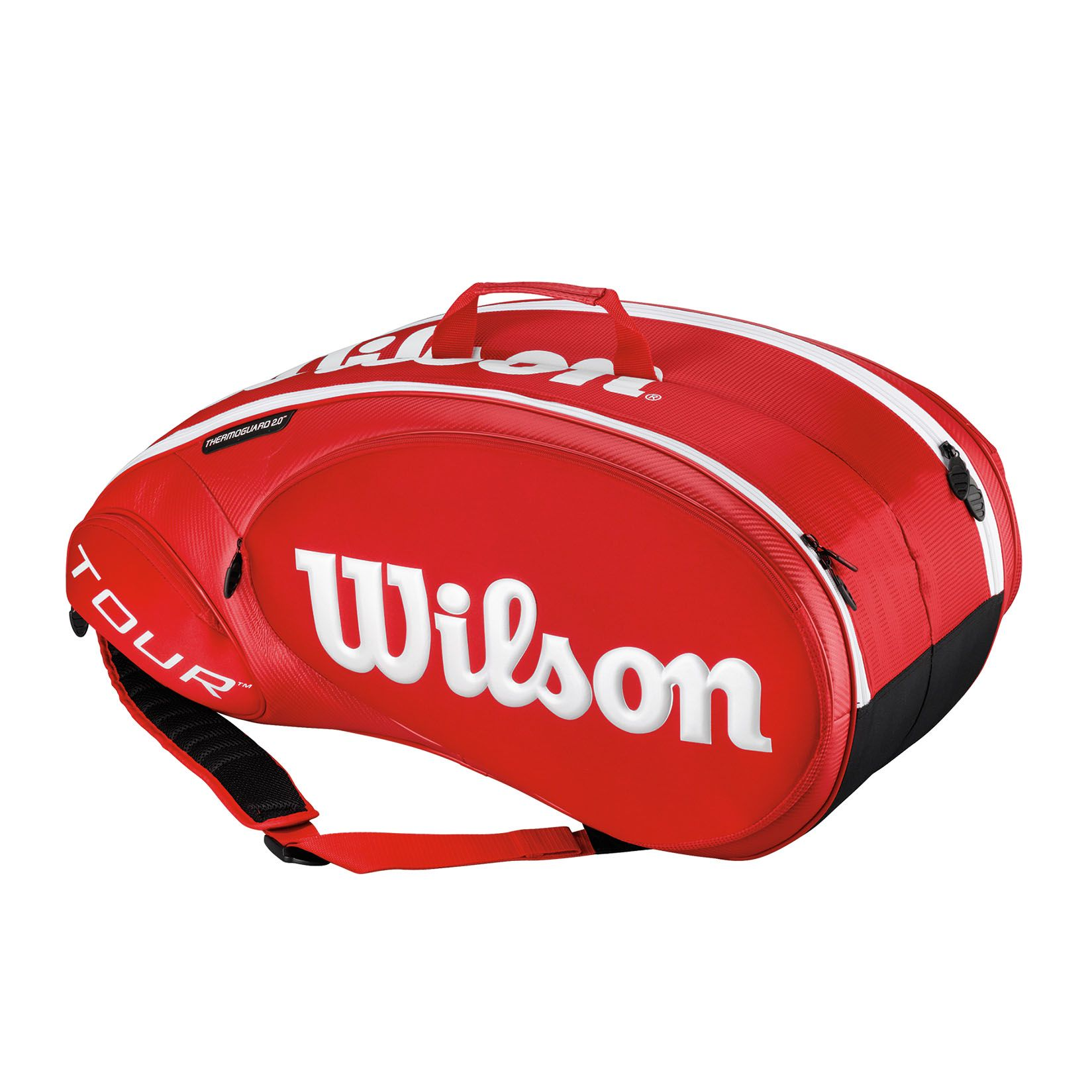 Wilson Tour 2.0 Bag 9 Racket Red