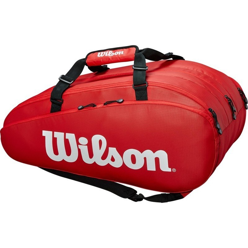 Wilson Tour 3 Compartment Red