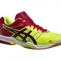 Asics Gel Rocket 7 Men - Flash Yellow / Black / Chinese Red]