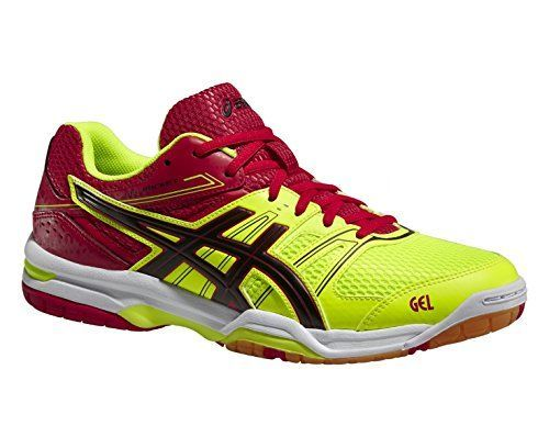 Asics Gel Rocket 7 Men [Flash Yellow/Black/Chinese Red]