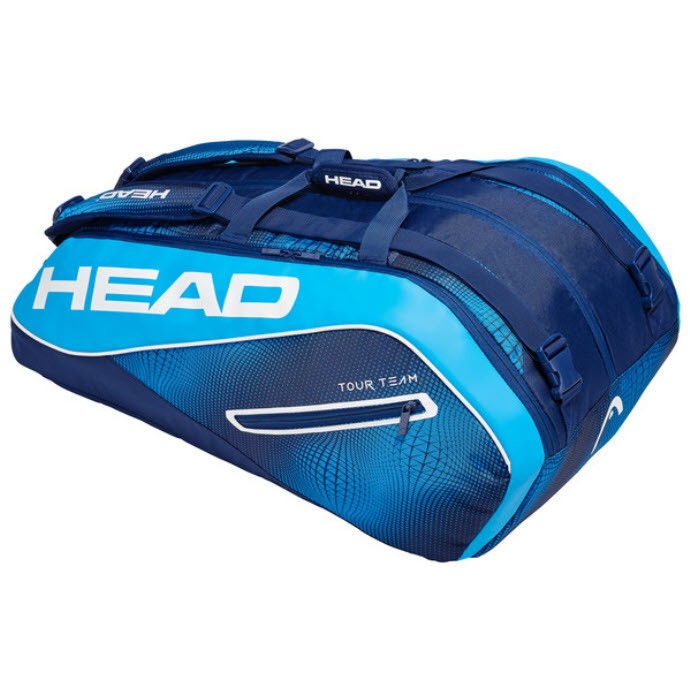 Head Tour Team Navy Blue 12-Racket Bag