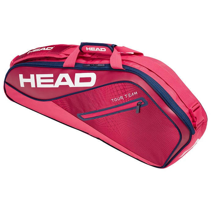 Head Tour Team Pink 3-Racket Bag