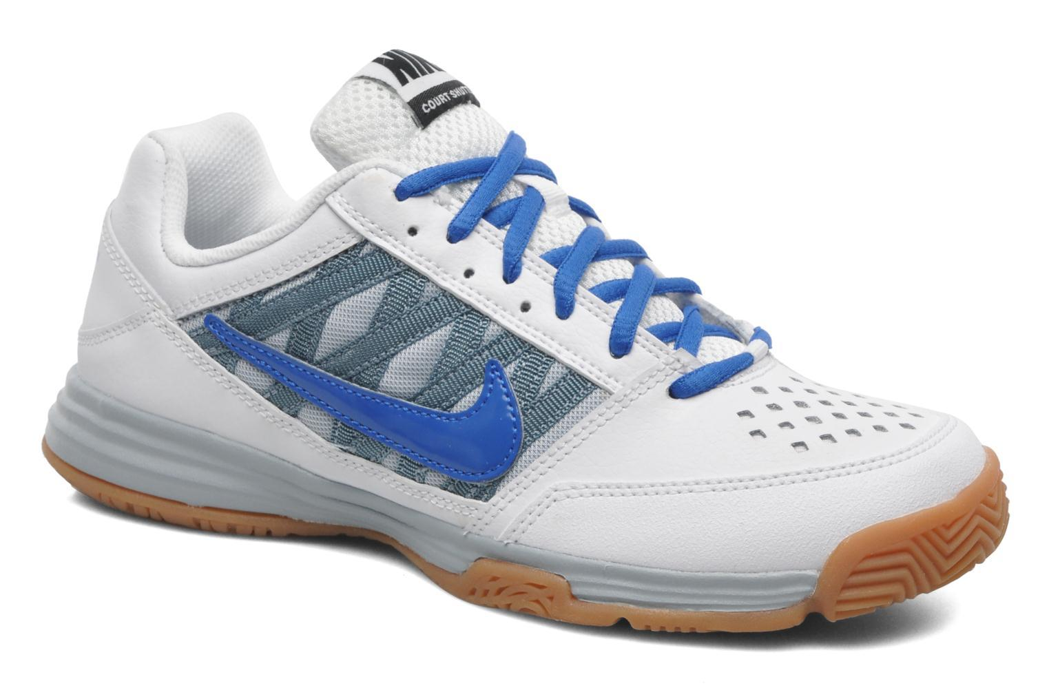 Nike Court Shuttle 5 Women [White Blue Gray]