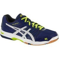 Asics Gel Rocket 7 Men [Navy Blue / White / Lime Green]