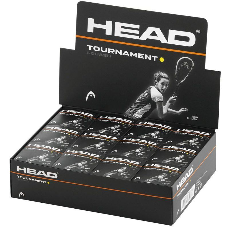 Head Tournament Squash Balls