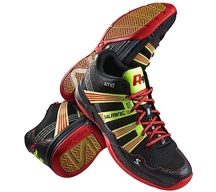 Salming Race R9 Mid 2.0 [Black / Red]