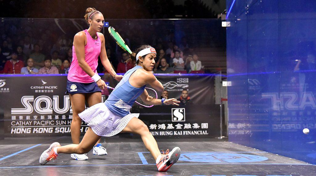 Nicol David Asics Gel Blade 5
