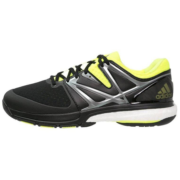 Adidas Stabil Boost Men - Black Yellow