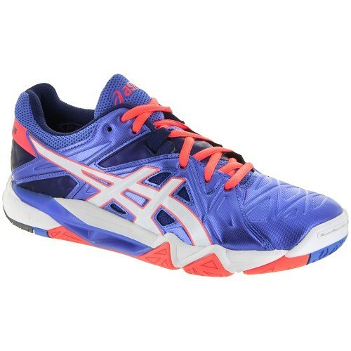 Asics Gel Cyber Sensei 6 Women (Powder Blue / White / Flash Coral)