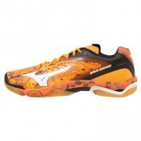Mizuno Wave Mirage [orange / white / black]