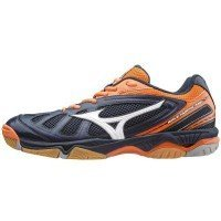 Mizuno Wave Hurricane Men - Navy Orange