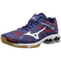 Mizuno Wave Lightning Z Men - Navy Red