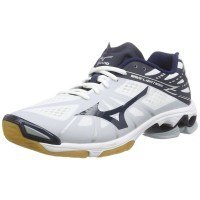 Mizuno Wave Lightning Z Men - White Navy Silver