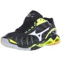 Mizuno Wave Tornado X Women - Black Yellow