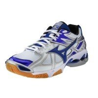 Mizuno Wave Bolt 4 Women - White Royal