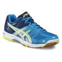 Asics Gel Rocket 7 Men - Blue Jewel - Glacier Grey