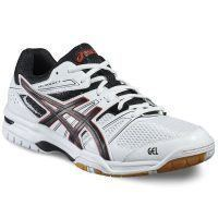 Asics Gel Rocket 7 Men - White Black Red