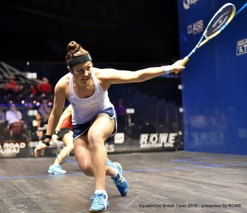 Amanda Sobhy 2016 British Open