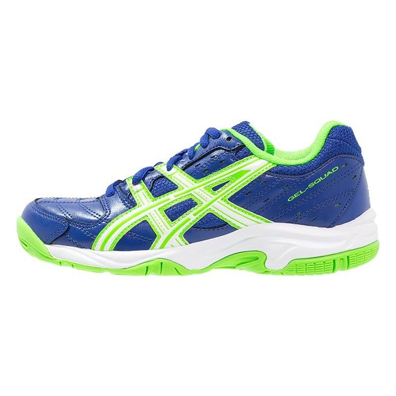Asics Gel Squad Junior - Blue White Green