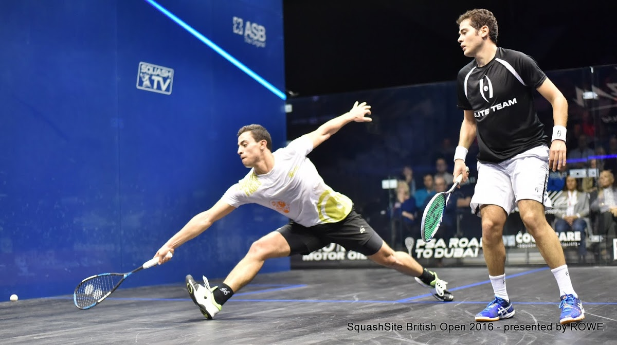 Fares Dessouky 2016 British Open