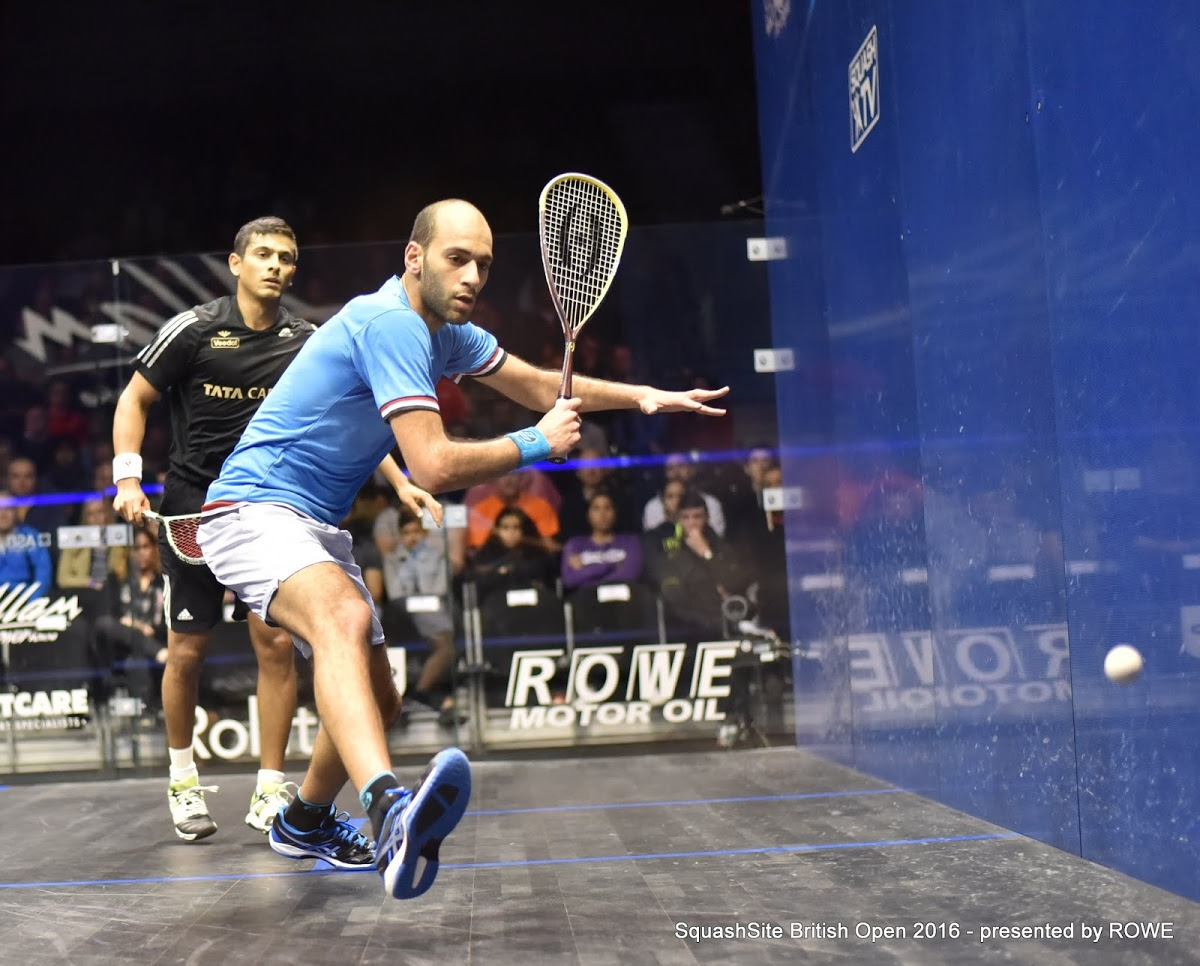 Marwan El Shorbagy 2016 British Open