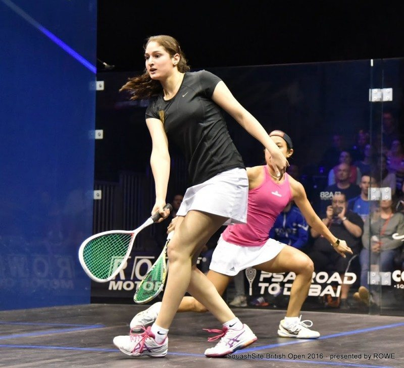 Mayar Hany 2016 British Open
