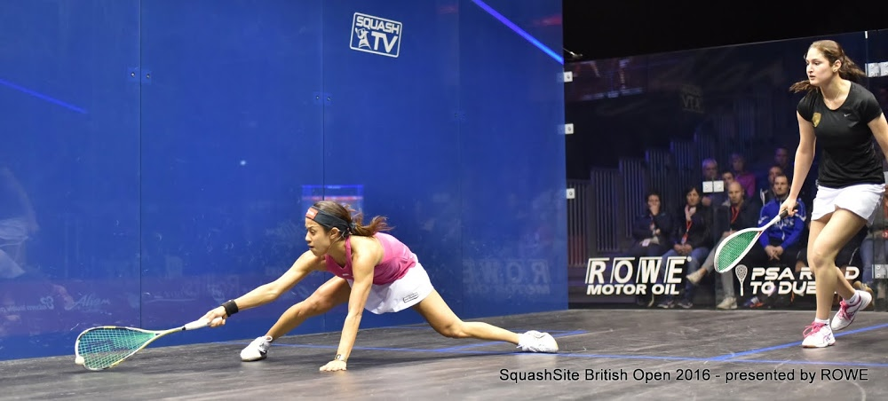Nicol David 2016 British Open