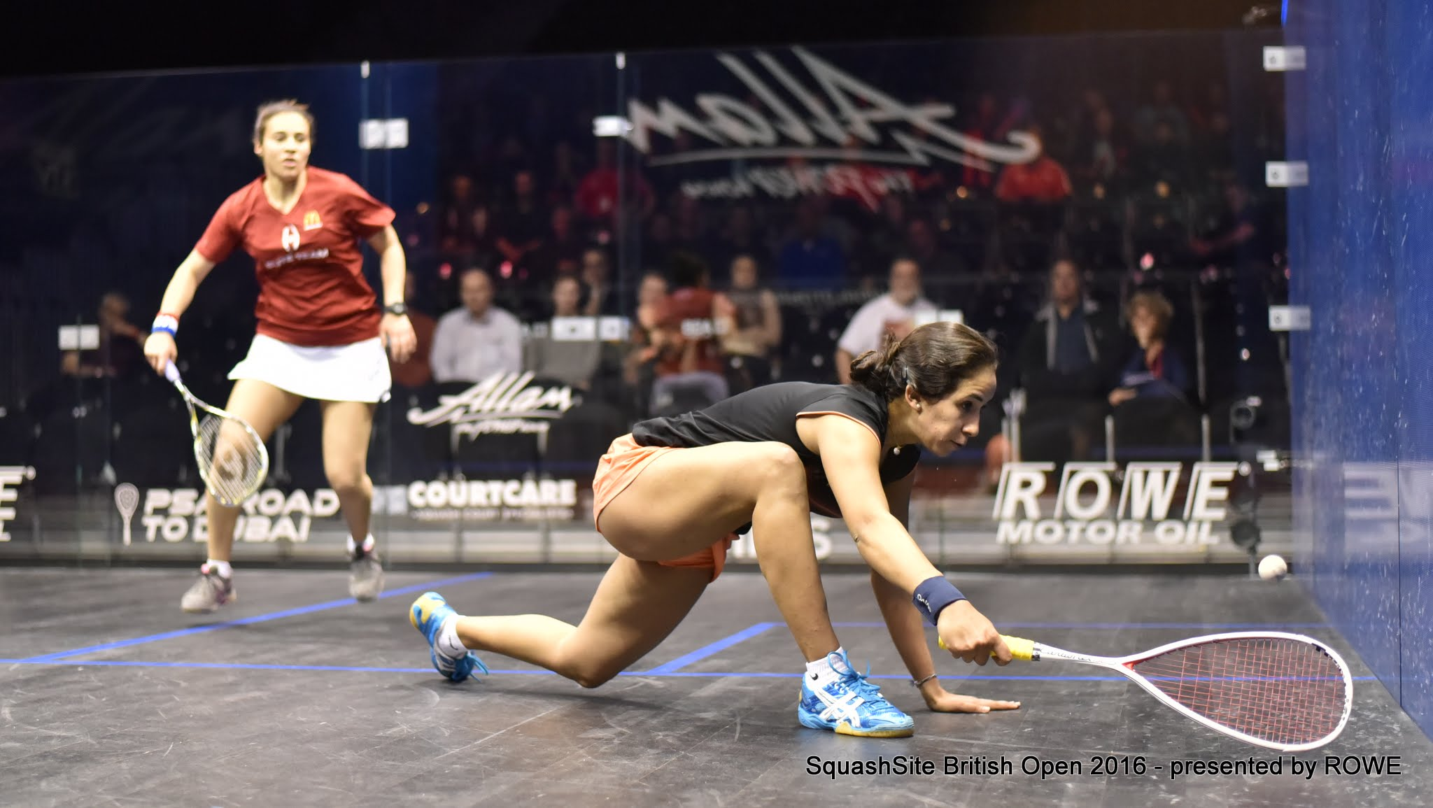 Nouran Gohar 2016 British Open