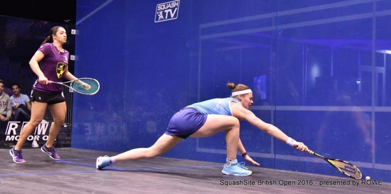 Sarah-Jane Perry 2016 British Open