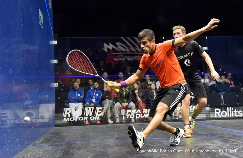 Saurav Ghosal 2016 British Open