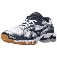 Mizuno Wave Bolt 5 Women - White Navy