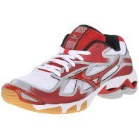 Mizuno Wave Bolt 5 Women - White Red