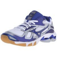 Mizuno Wave Bolt 5 Women - White Royal