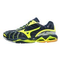 Mizuno Wave Tornado X Men - Dress Blue Yellow