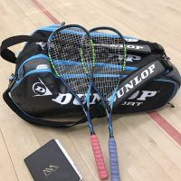 Nick Matthew's 2017 Racket