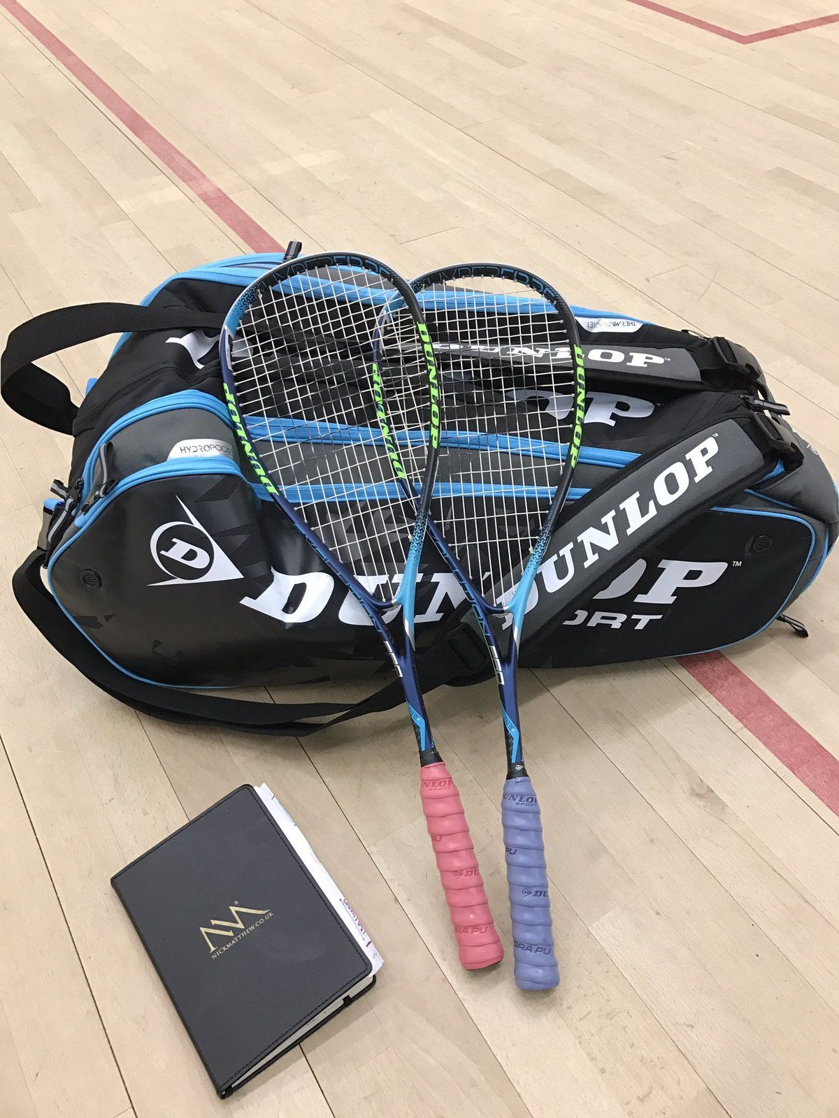 Nick Matthew Squash Racket 2017