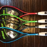 Prince Pro and Prince Team Squash Rackets