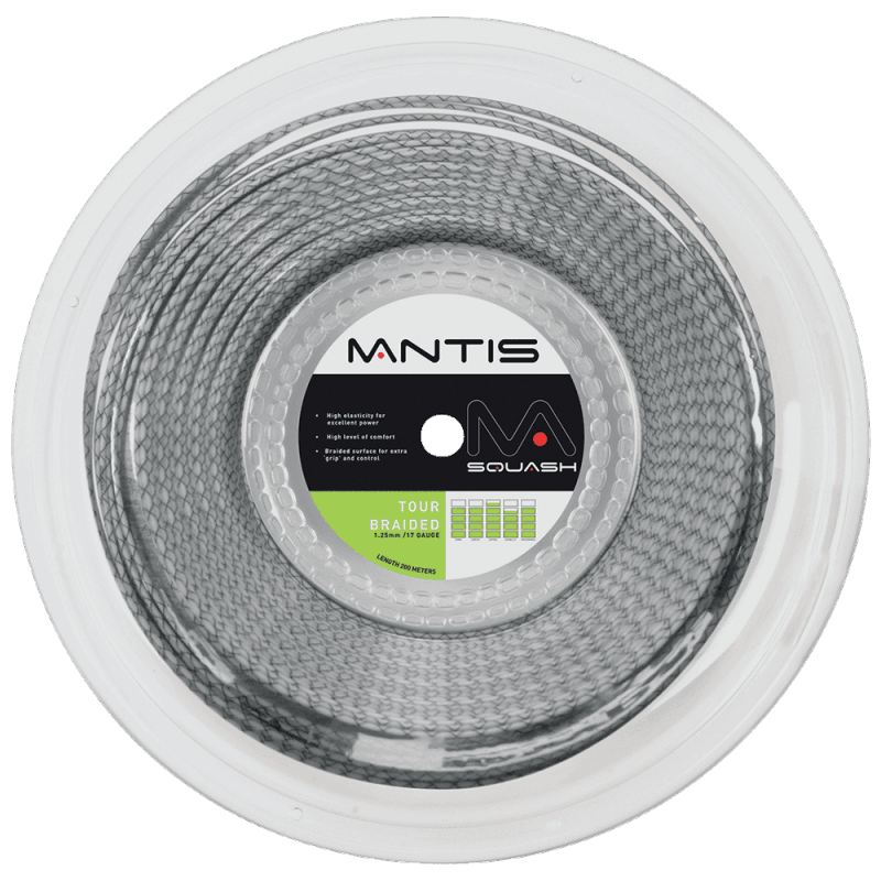 Mantis Tour Braided Squash Strings