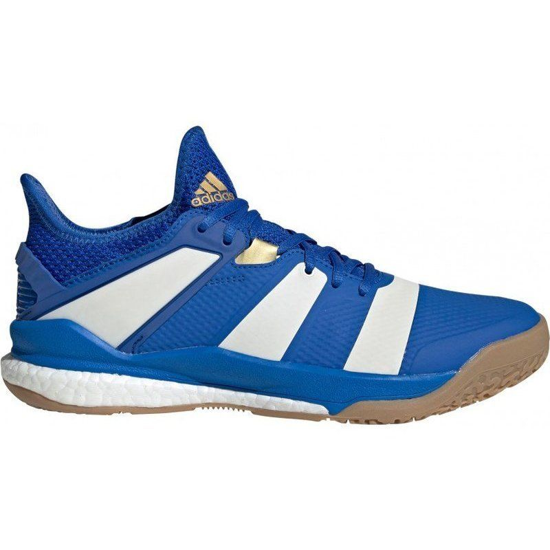 Adidas Stabil X Blue White Gold
