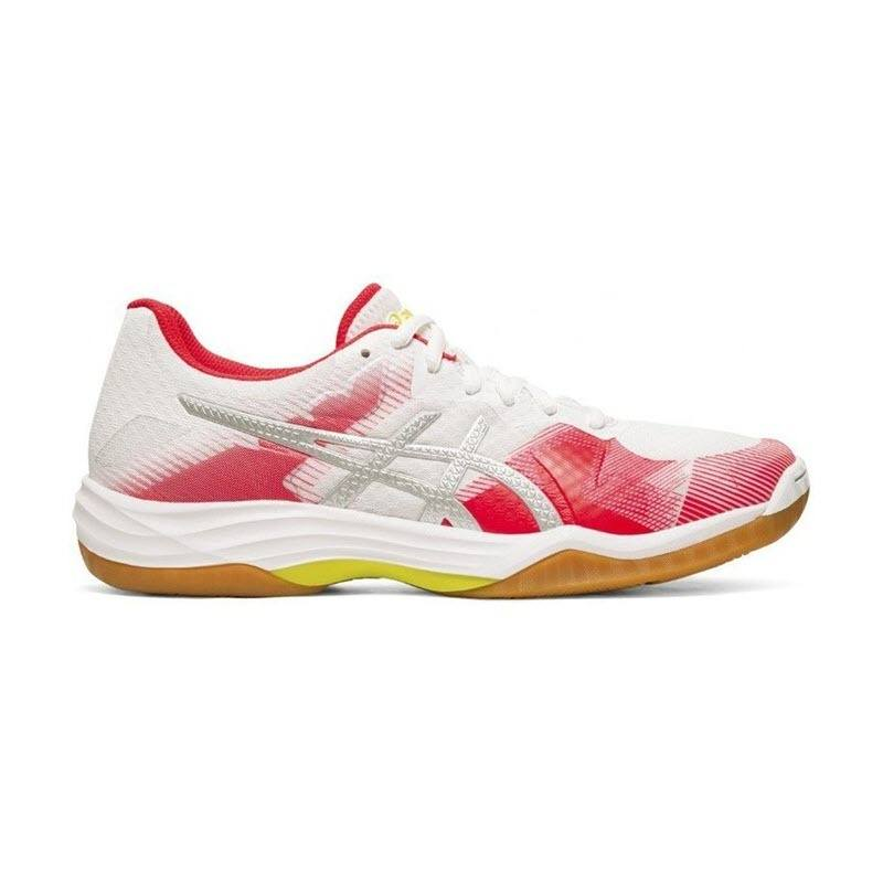 Asics Gel Tactic 2 Women White Red