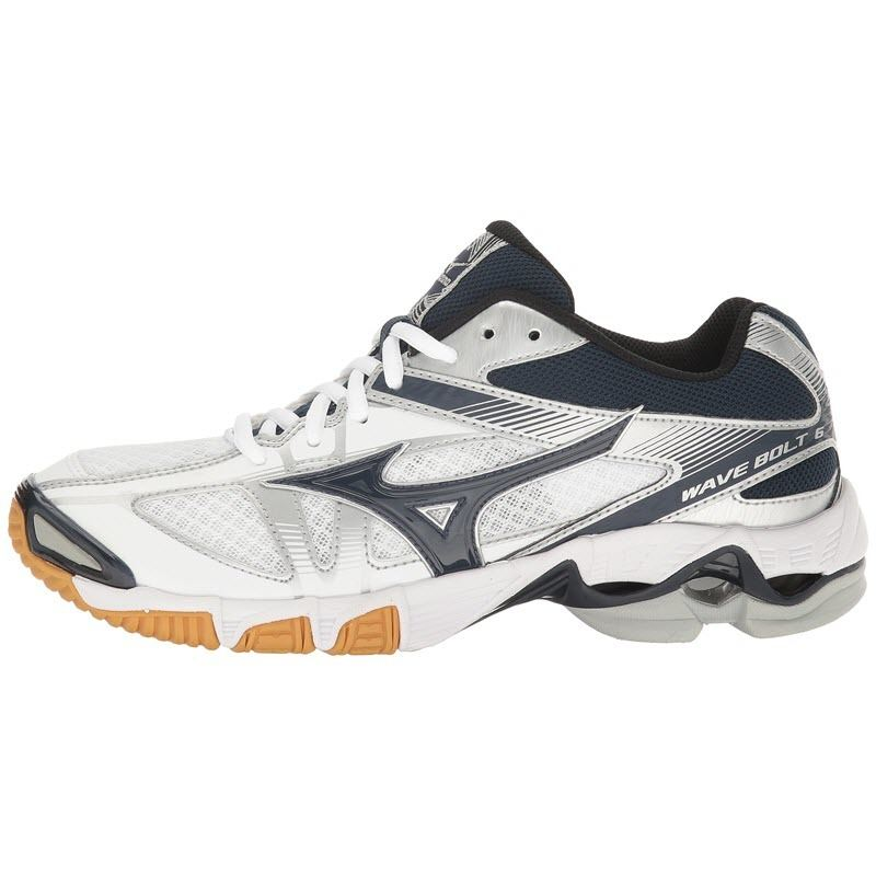 Mizuno-Wave-Bolt-6-Women-White-Navy