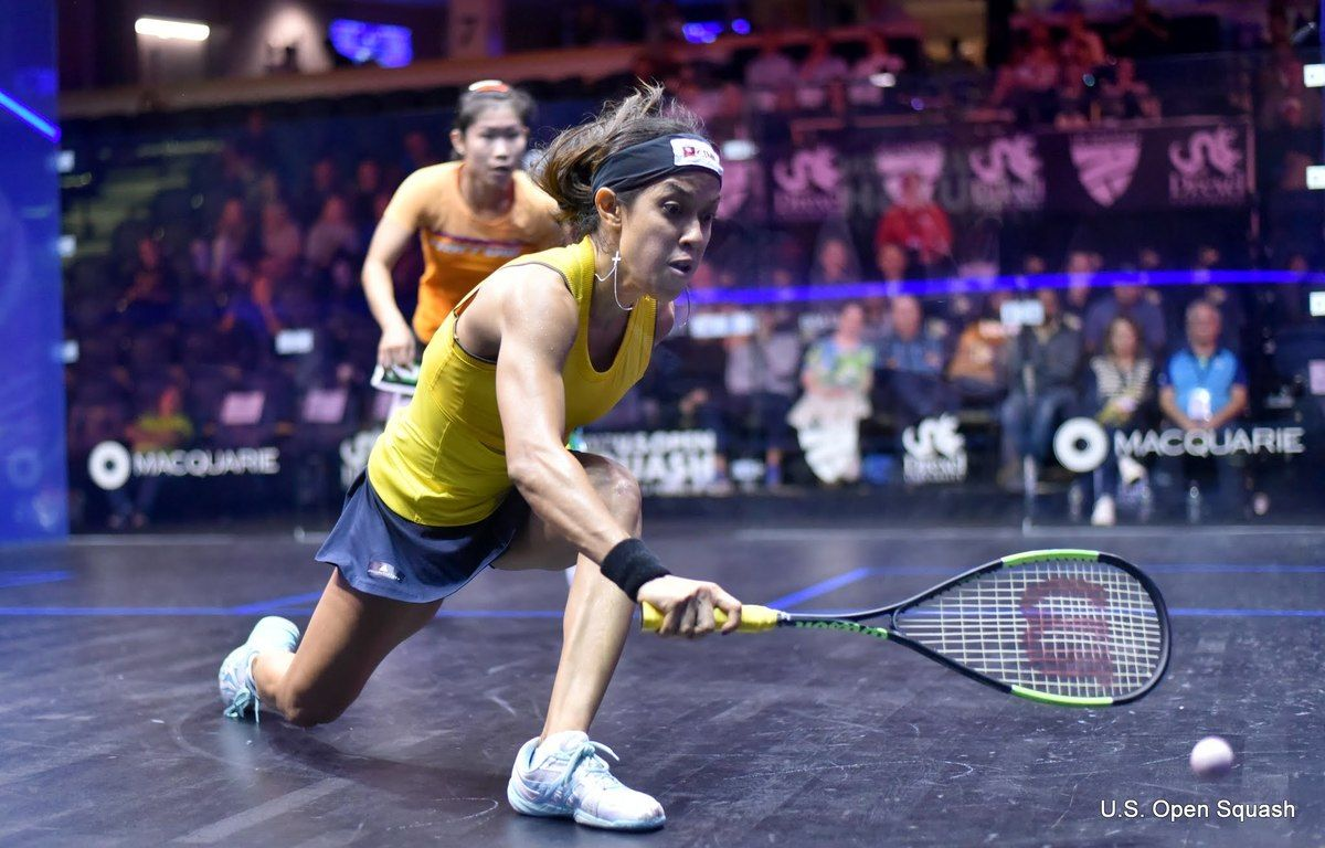 Nicol David 2017 US Open