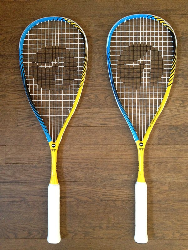 One Sport Blue Tiger Squash Racket