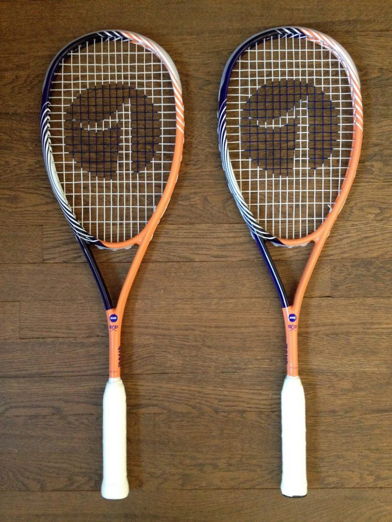 One Sport Purple Tiger Squash Racket