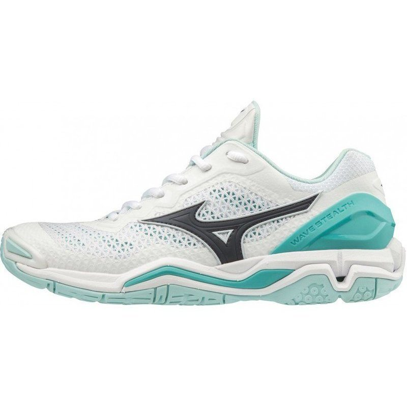 Mizuno Wave Stealth V White Women 2019