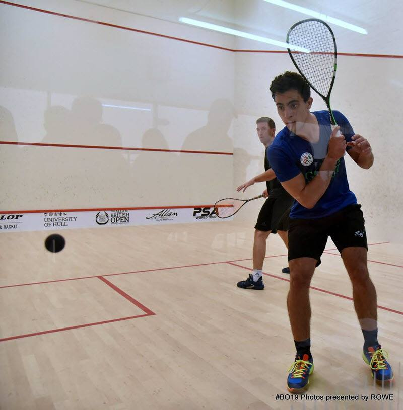 Fares Dessouky 2019 British Open Day 1