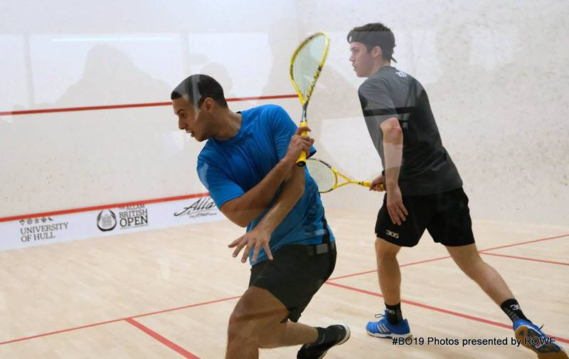 Karim Ali Fathi 2019 British Open Day 1