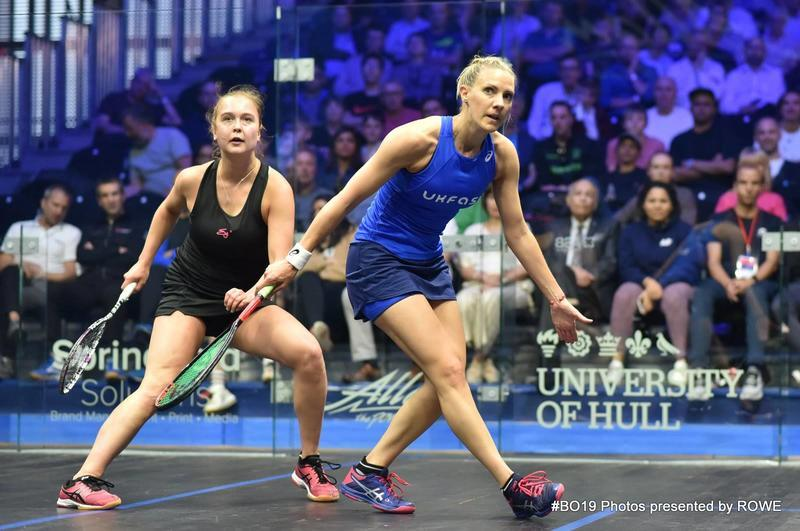 Laura Massaro 2019 British Open Day 2