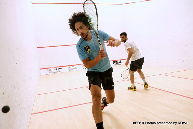 Mazen Hesham 2019 British Open Day 1