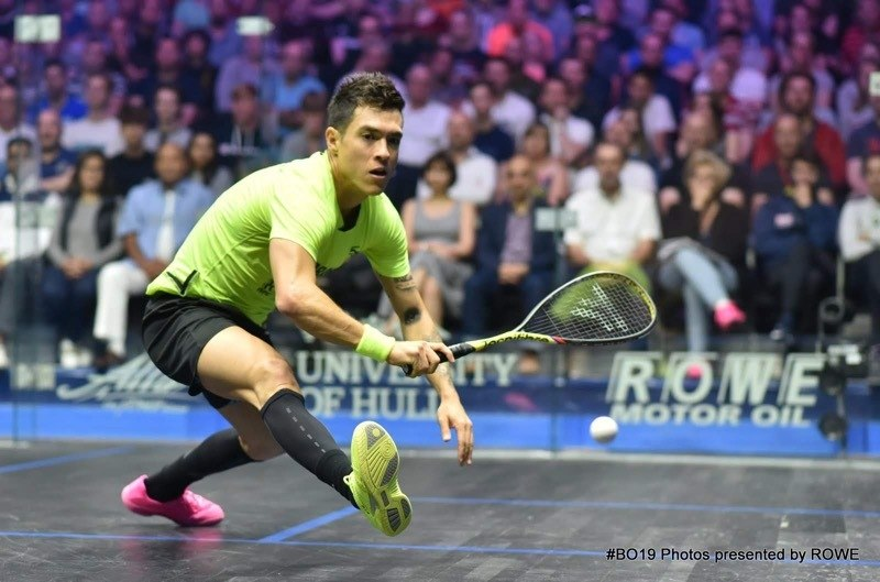 Miguel Angel Rodriguez 2019 British Open QF